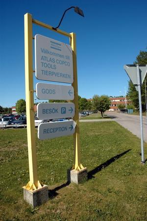 Håller i sig. Atlas Copco är ett av de företag som gör att det ser fortsatt ljust ut för sysselsättningen i Tierps kommun - trots att det är på väg att mattas av i Uppsala län.