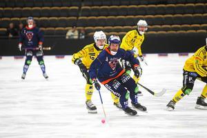 Per Hellmyrs under World Cup där Bollnäs missade slutspel och hamnade bakom rivalen Broberg.