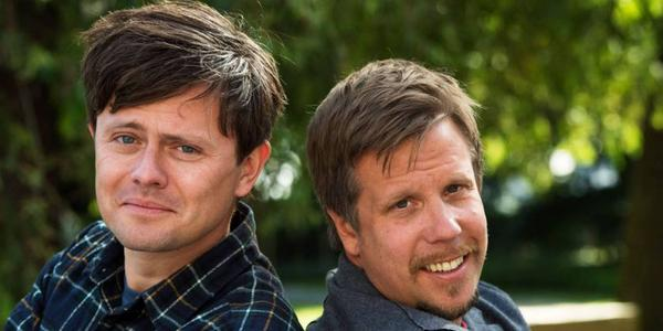 Radarparet Filip och Fredrik. Kanske kommer de peppa ett par i Härjedalen?