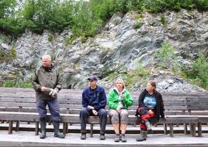 För att bäst utnyttja akustiken i brottet anlitades tidigt en expert från Dalhalla som kom och lyssnade. Janne Andersson, Bengt och Anneli Hellstrand och Eleanor Lundberg är därför övertygade om att både scen och bänkar står rätt.