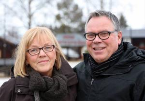 Eva-Britt och Jan-Erik Nordstrand har sedan mitten på sjuttiotalet undervisat många av Sonfjällsbygdens skolelever.