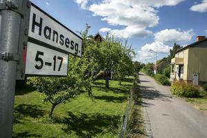 Hansesgatan är en av de gator i som inte fick post på grund av en trasig bil, enligt Post Nord.