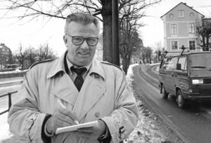 Förre landstingsrådet Ingemar Karlsson avled nyligen. Han blev 82 år. Foto: NA arkiv/Håkan Ekebacke