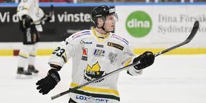 Pontus Wernersson-Libäck var tvåmålsskytt mot Kalix.