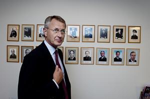 Stefan Kristiansson i samband med att han lämnade posten MUST-chef 2012. Foto: Lars Pehrson / SvD / SCANPIX /