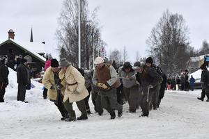 Peter Egardt, Braf Göran Viktorsson, Robert Nilsson och Ola Påhlsson drar i  främsta ledet.