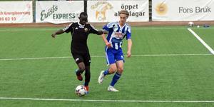 Shafick Iraremas Fagersta Södra gick vinnande ur derbyt mot Ludwig Wallertz Avesta AIK.