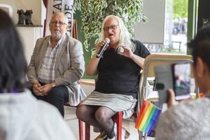 Maria Hansson (KD) är inte bara politiker i BUN, utan även transaktivist, föreläsare och debattör.