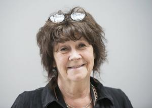 Lisbeth Malm, konstnär, talesperson för Konstnärernas Riksorganisation i Västernorrland.