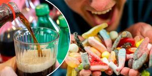 """""""Nationellt sett beräknas fetman kosta landet 70 miljarder varje år. Det finns ett effektivt sätt att vända utvecklingen: att minska sockerförbrukningen drastiskt"""" skriver Mats Wiking och Ann Fernholm. Foto: TT/Montage"""