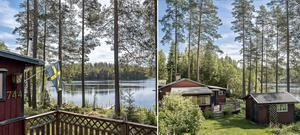 Foto: Johan Blomquist. Sommarstugan vid Lersjön norr om Karlskoga har lockat över 6 000 att ta en närmare titt digitalt.