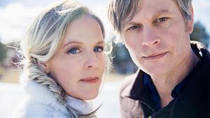 Sofia Karlsson och Martin Hederos spred julstämning i Gävle. Bild: Pressbild Jubel AB