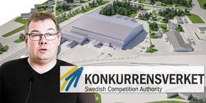 Fastighetschef Per Molin är den som sköter kontakten med Konkurrensverket för kommunens räkning. Bilden är ett montage.