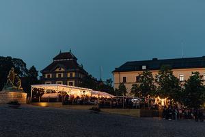 Trägår'n Bar & Grill på Stora torget, sommaren 2019. Foto: Jona Granath.