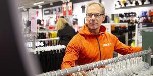 Magnus Bohlin, butikschef på Stadium.