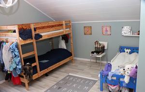Barnens rum i en av lägenheterna.