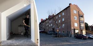 I mars 2019 påbörjades byggnationerna av 16 helt nya studentettor på Andra Långgatan 25 och 29 i Örnsköldsvik – om några veckor är bygget färdigt.