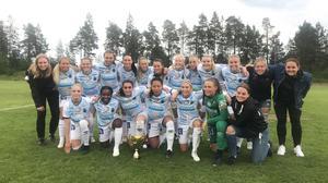 Gefle IF vann DM-finalen för damer efter 3–2 mot Valbo på Åbyvallen.