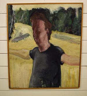 Claes Jurander, självporträtt.