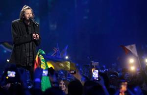 Salvador Sobral från Portugal vann Eurovision med låten