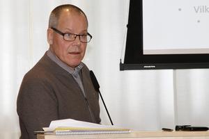 Ekonomichef Tom Westerberg påpekar att Ljusdals konsumtion måste anpassas efter intäkterna.