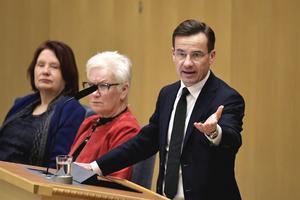 Moderaternas partiledare Ulf Kristersson vill ha ett extraval.