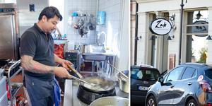 Här är den senaste restautrangen i Stenstaden – Zab. Aphinit Detsawat lagar mat.