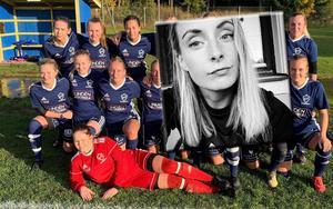 Pernilla Andersson har valt att stanna i Östervåla IF ytterligare en säsong. Foto: privat/privat