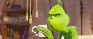 Grinchen är mer en lagom missanpassad gnällgubbe än någon mästerskurk den här gången. Pressbild.Foto: Universal Pictures