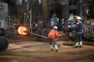 Den svenska basindustrin, inklusive stålindustrin, har slutat växa.