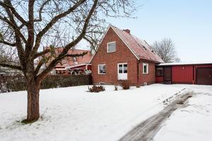 Denna villa på Lövsångargatan i Mjälga/Årby i Borlänge kommun kom på plats fyra på Klicktoppen, sett till objekten för Dalarna.Foto: Patrik Persson