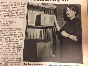 Polisstationen i Djuptjärn ska bort, precis som poststationen, som länge sköttes av fru Ingrid Lundqvist.