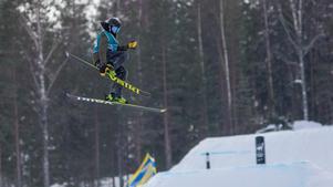 Erik Jonsson, Sälens IF, var näst bästa åkare i ungdomsklassen.