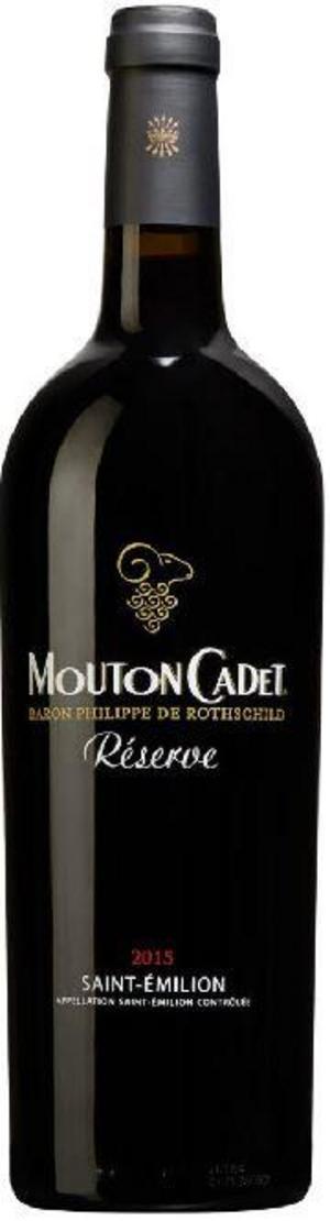 Mouton Cadet Reserve Saint-Èmilion 2015.