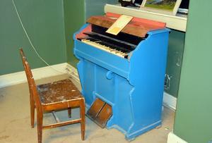 Orgeln minner om gångna tider.