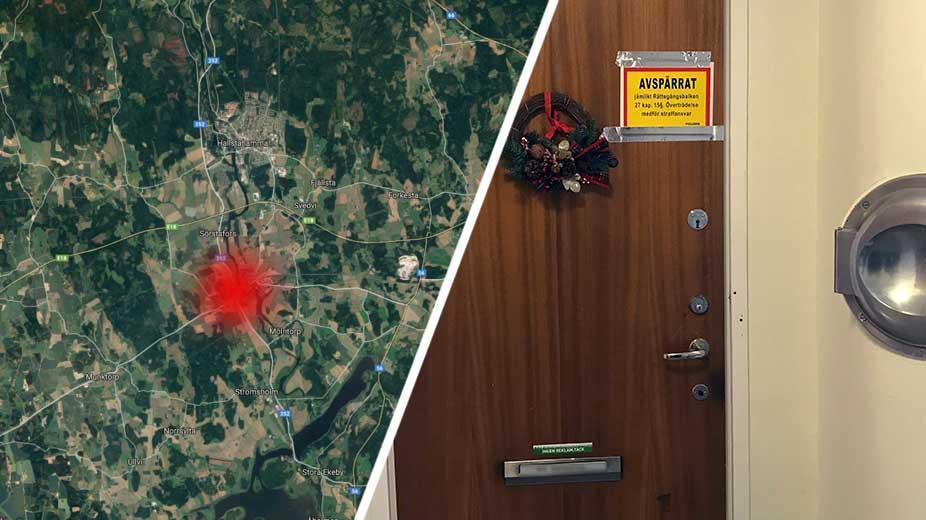 Misstankt mord i kolback