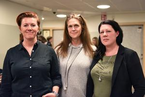 Linda Cedenman, Lena Sundberg och Helen Landerstedt är lärarna som efterfrågat att eleverna ska få jobba närmare näringslivet och i år blev det också sant.