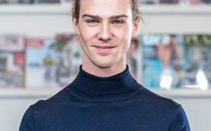 Gustav Ericsson är ledarskribent för Örnsköldsviks Allehanda och Tidningen Ångermanland. Bild: Privat.