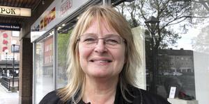 Jenny Adolphsson (C) yrkade återremiss på förslaget om ny kommunorganisation vid kommunstyrelsens möte.