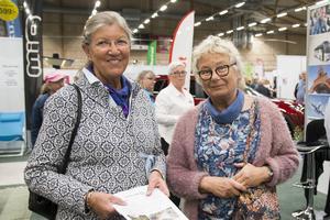För Marianne Lundén och Eva Fredin var mässan också ett tillfälle för att träffas.