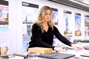Bilder: Maria Francesca Maretti På kontoret.