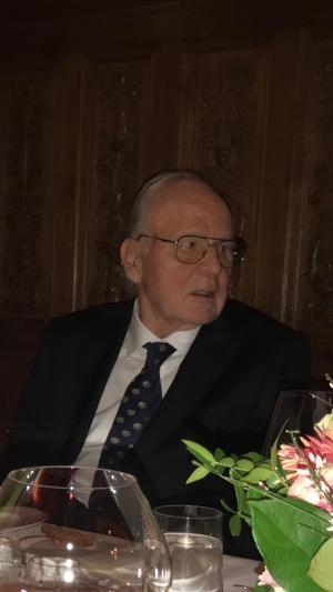 Håkan Kellner blev 83 år.