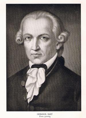 Immanuel Kant. Bild: Wiki Commons