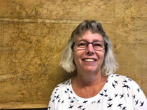 Lokalhistorikern Maria Landin. Foto: Nynäshamns kommun