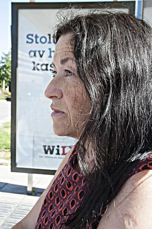 Poeten Ann Jäderlund. Foto: Ulla Montan