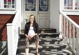 Sitt fjärde barn vill Linnéa Alfredsson föda i Falun.