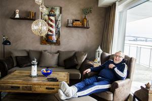 Sjöbodskänslan är påtaglig i Håkan Erikssons nya hem.