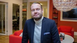 Magnus Fagerström, vd för Centrumfastigheter.
