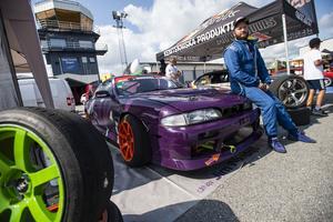Jim Nordquist från Bjästa tycker att det är bra att motorsporten lyfts fram.