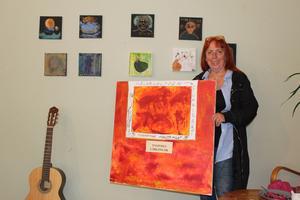 Yvonne Svensson blir inspirerad av programmet
